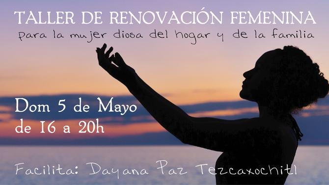 TALLER DE RENOVACIÓN FEMENINA