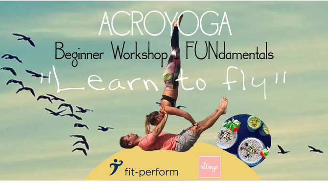 "ACROYOGA ""LEARN TO FLY"" - 29/06/2019"