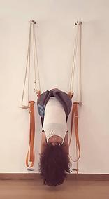 Yoga con cuerdas