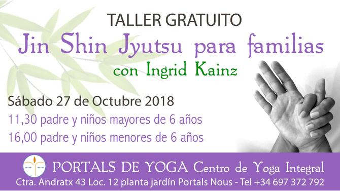 Taller gratuito Jin Shin Jyutsu para familias