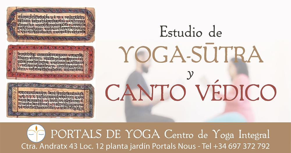 Estudio Yoga-sutra y canto védico