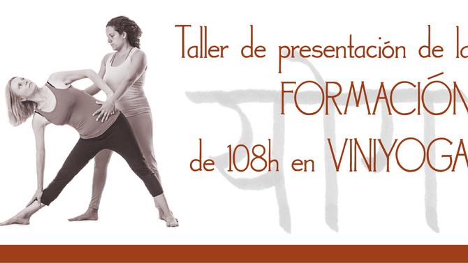 Taller de presentación de la formación en viniyoga (108 horas) 14/9/2019
