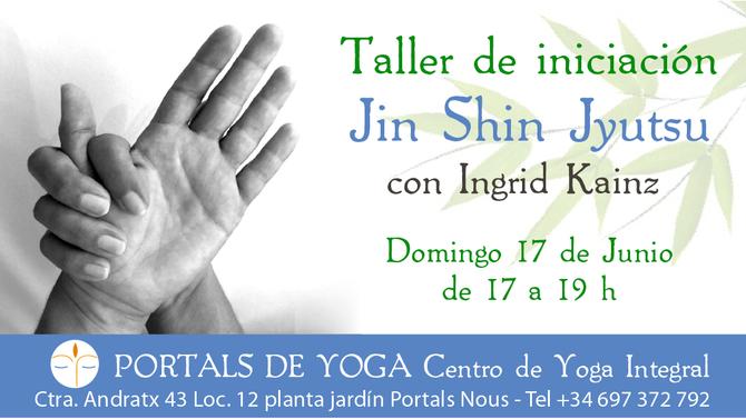 Taller de iniciación Jin Shin Jyutsu