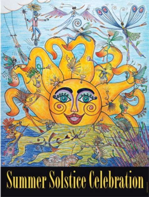 Radiant Summer Solstice Yoga Day Celebration