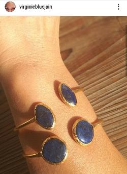 Joncs lapis lazuli