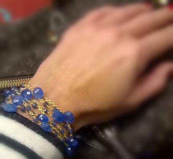 DELIZ porté en bracelet