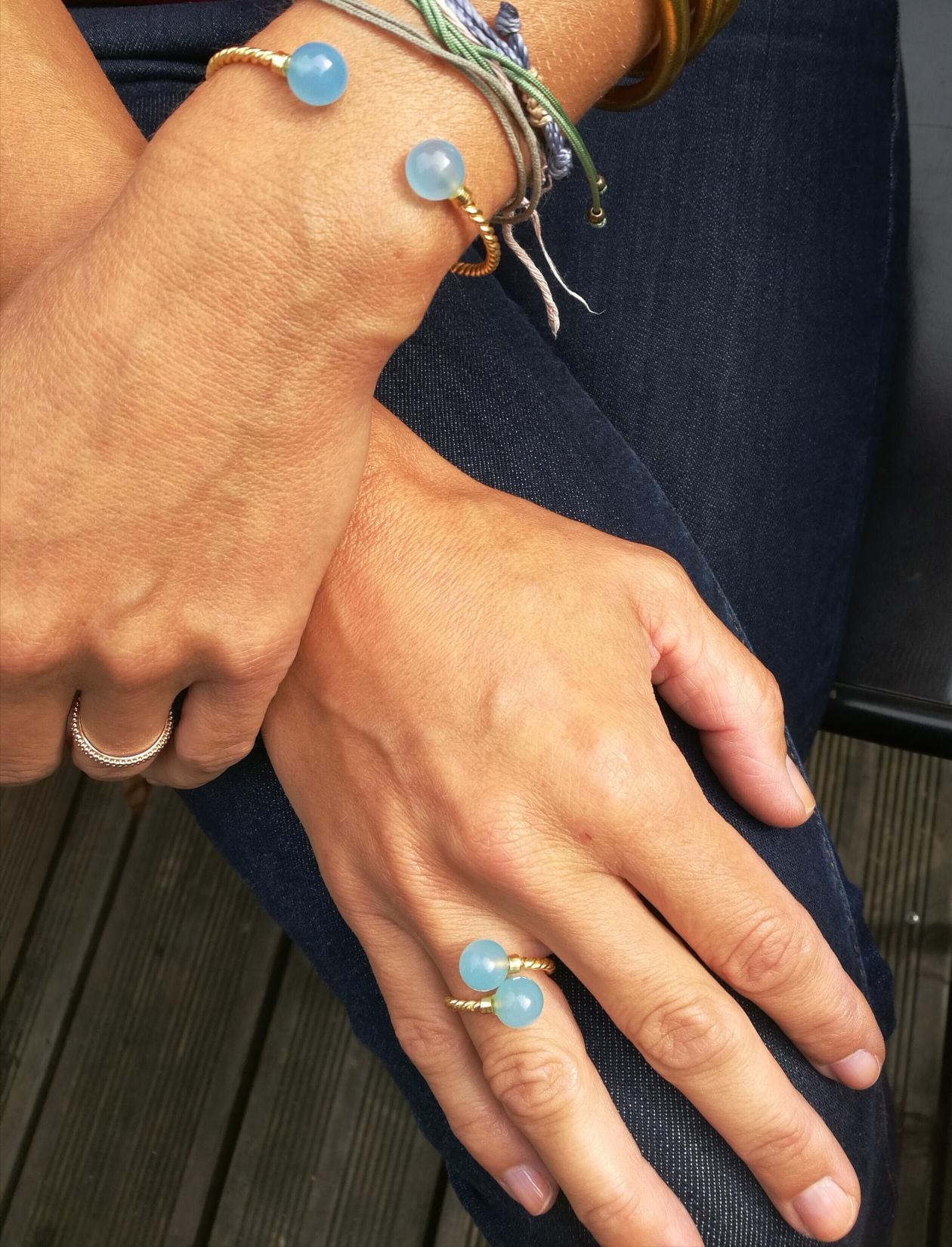 TWISTY bague et bracelet