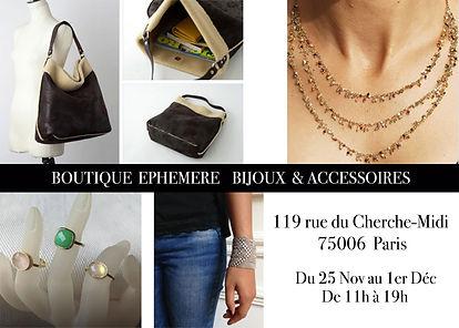 Boutique éphémère PARIS