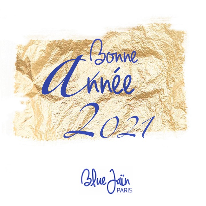 VOEUX blue jain - annee 2021