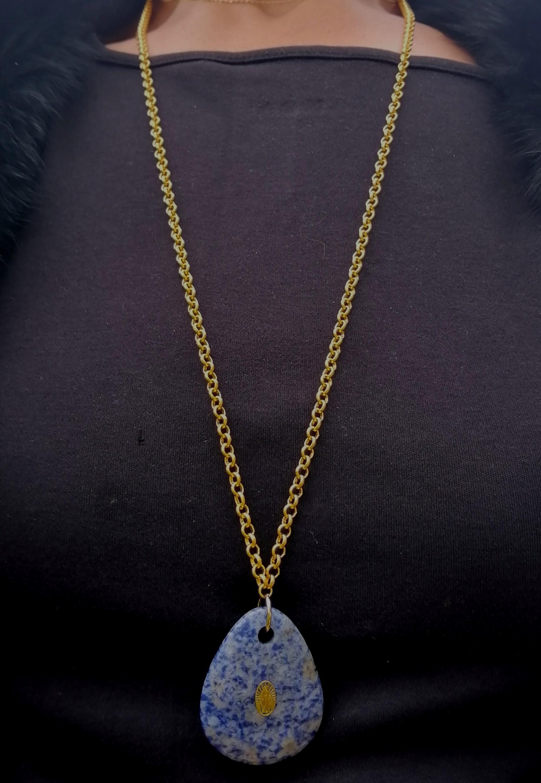 Sautoir ALICIA lapis lazuli