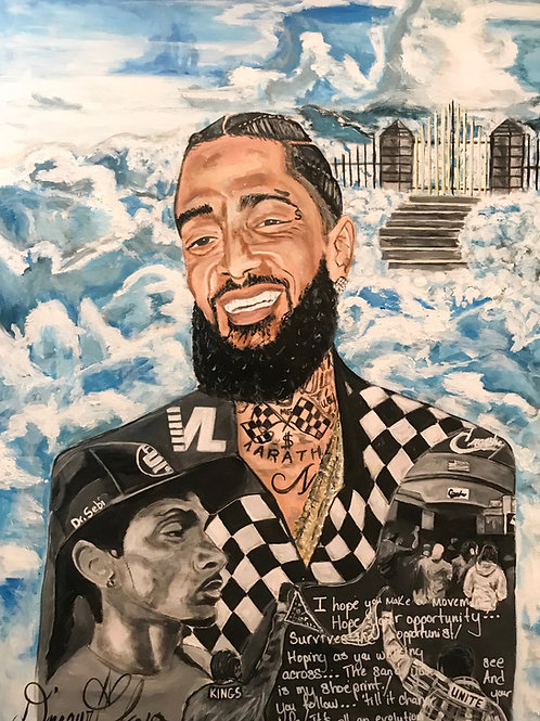 "Nipsey Hussle ""In Loving Memory"""