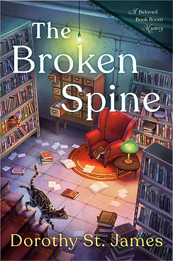 The Broken Spine: A Beloved Bookroom Mystery