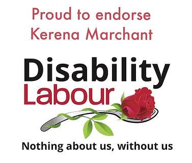 Disabiltiy Labour endorsing Karena Marchant