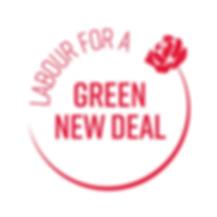 Labour Green New Deal Logo