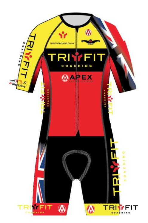 Tri Fit Endurance Pro Race Speed Tri Suit