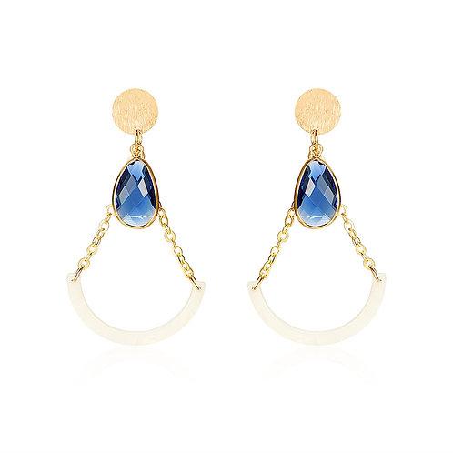 Zinni Loop Earrings