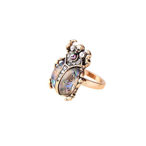 Royal Scarab Ring