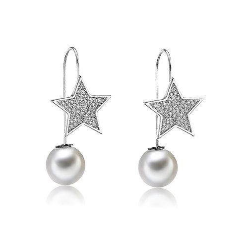 Pearly Sky Earrings
