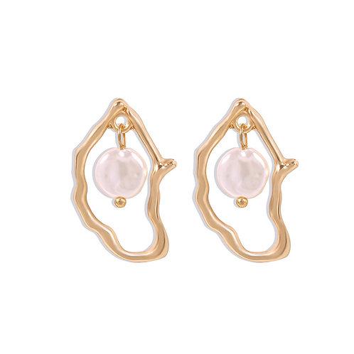 Sea Coral Earrings