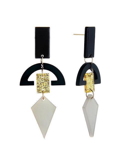 Aztec Geo Earrings