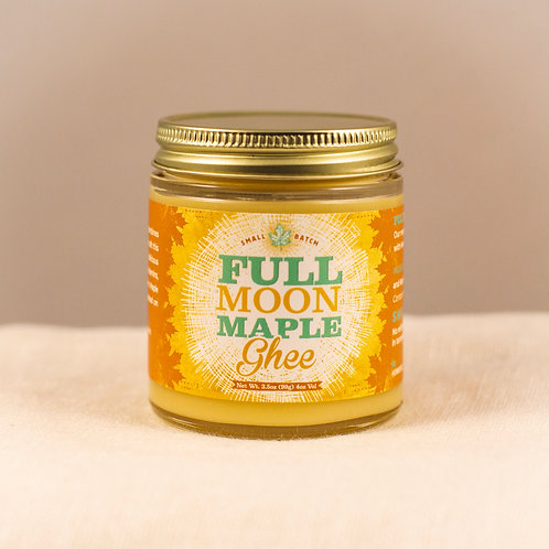 Maple Ghee 4 oz. jar
