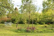 Le jardin de la Blanchetière, gîte de charme en normandie calvados