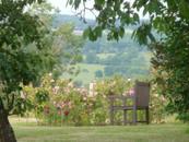 Tel un jardin anglais, gîte charme normandy calvados, la Blanchetière