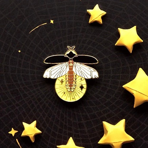 Fire Fly Brooch