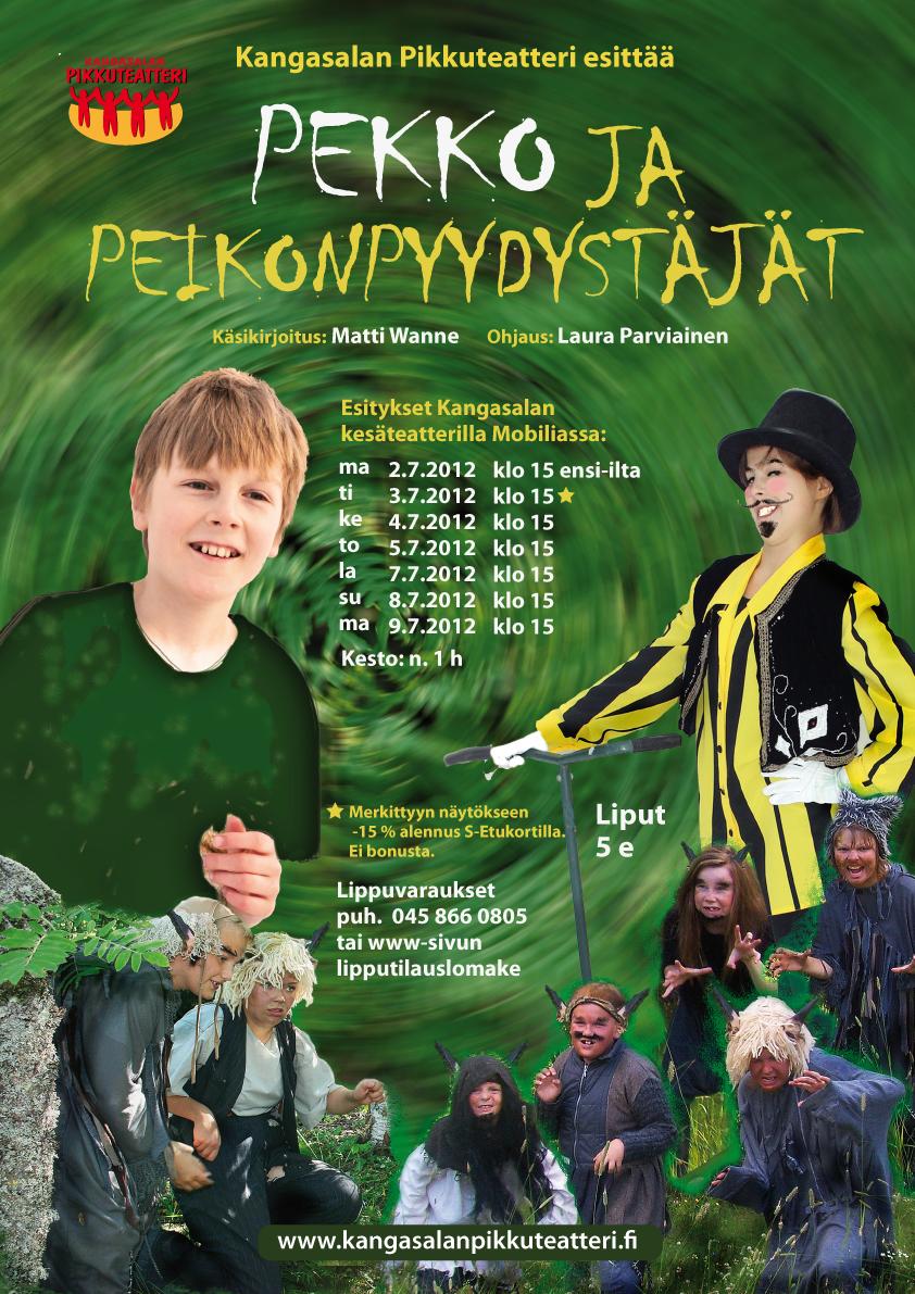 Poster/ Kangasalan Pikkuteatteri