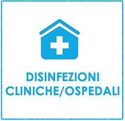 disinfezioni cliniche, ospedali, genova.