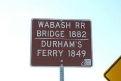 Wabash RR Durham Ferry 2