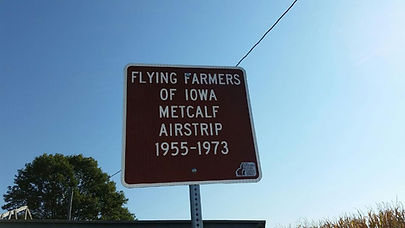 Flying Farmers of Iowa Metcalf Airstrip.