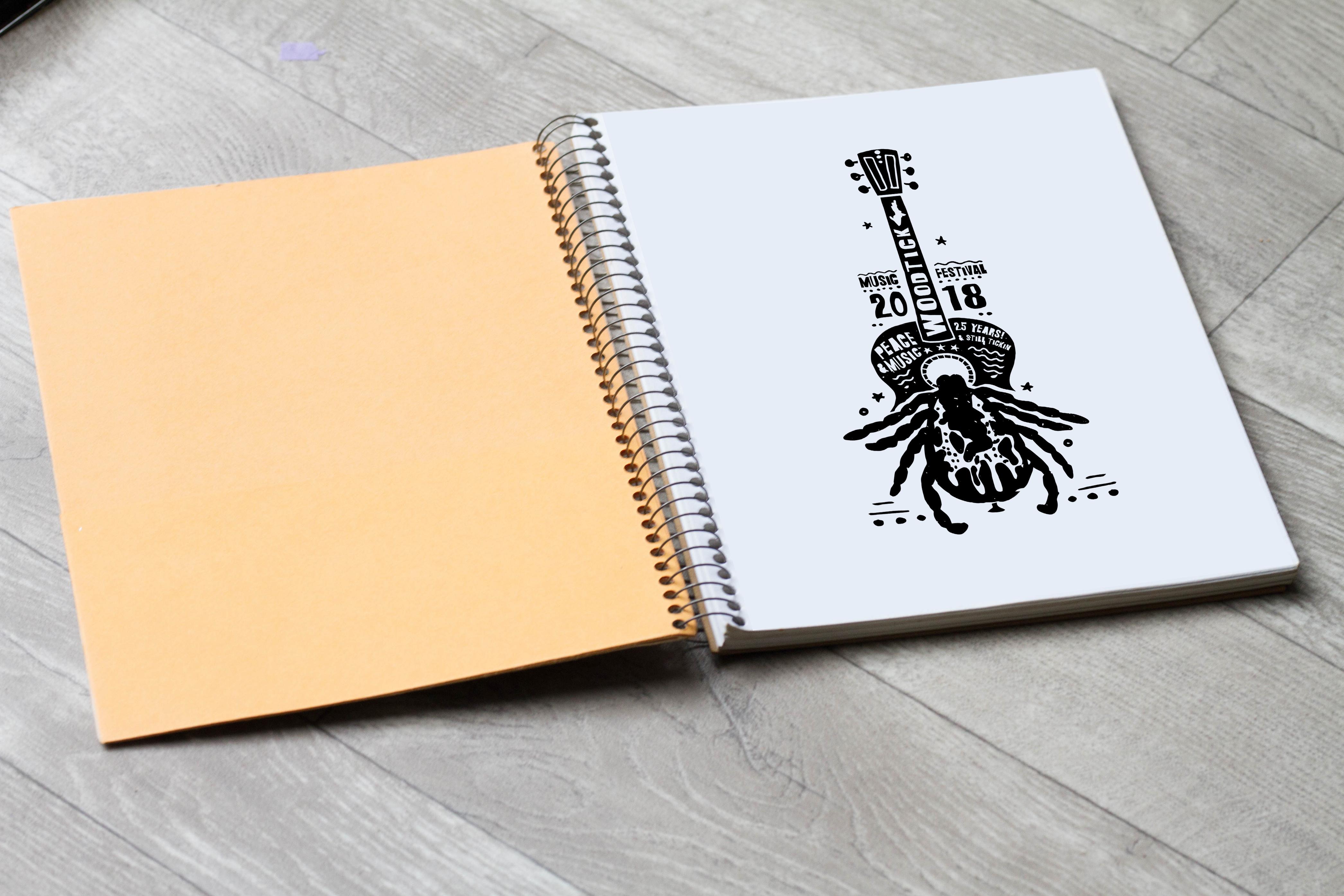 Sketch Book Mock Up2