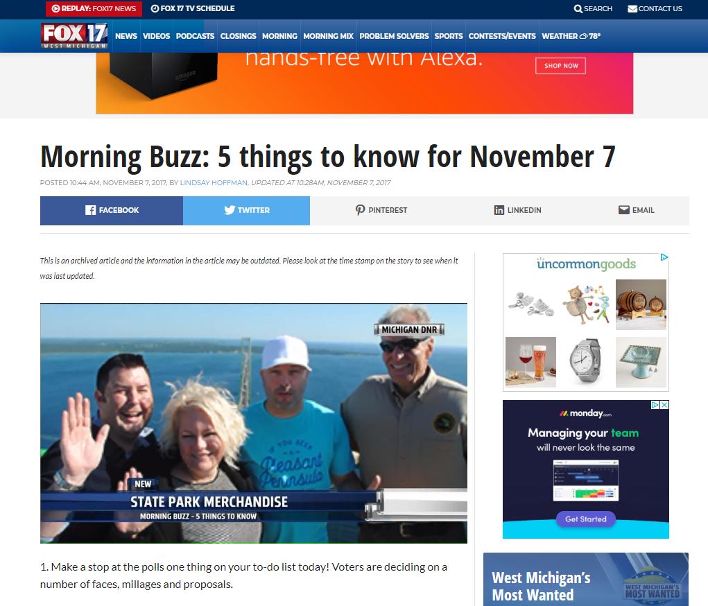 Fox 17 News Coverage