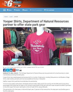 Yooper Shirts DNR Product