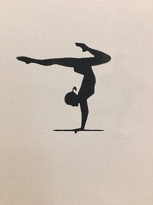 Gymnast Beam #1