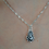 Thumbnail: Lovely Hedgehog Pink Crystal Pendant Necklace