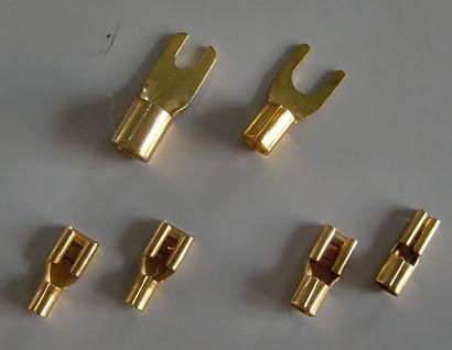 エターナルオート アンプ取り付け 圧着端子 スピーカーケーブル 電源ケーブル