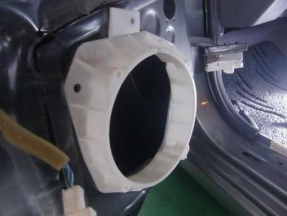 エターナルオート スピーカー取り付け インナーバッフル