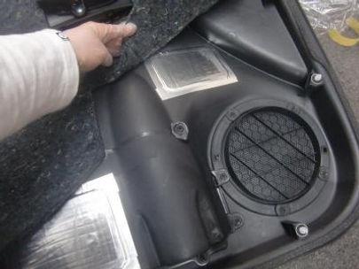 エターナルオート ドア内張り 内装 制震 加工