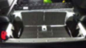 制振 静音 エターナルオート 愛知県 吸音 ラゲッジ トランク