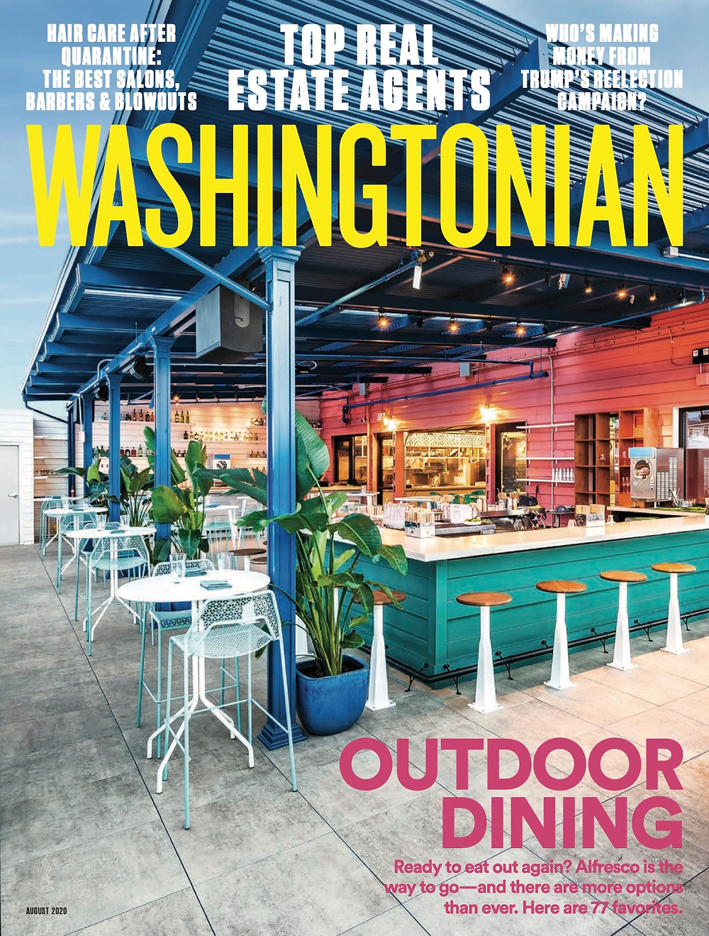 Washingtonian August 2020