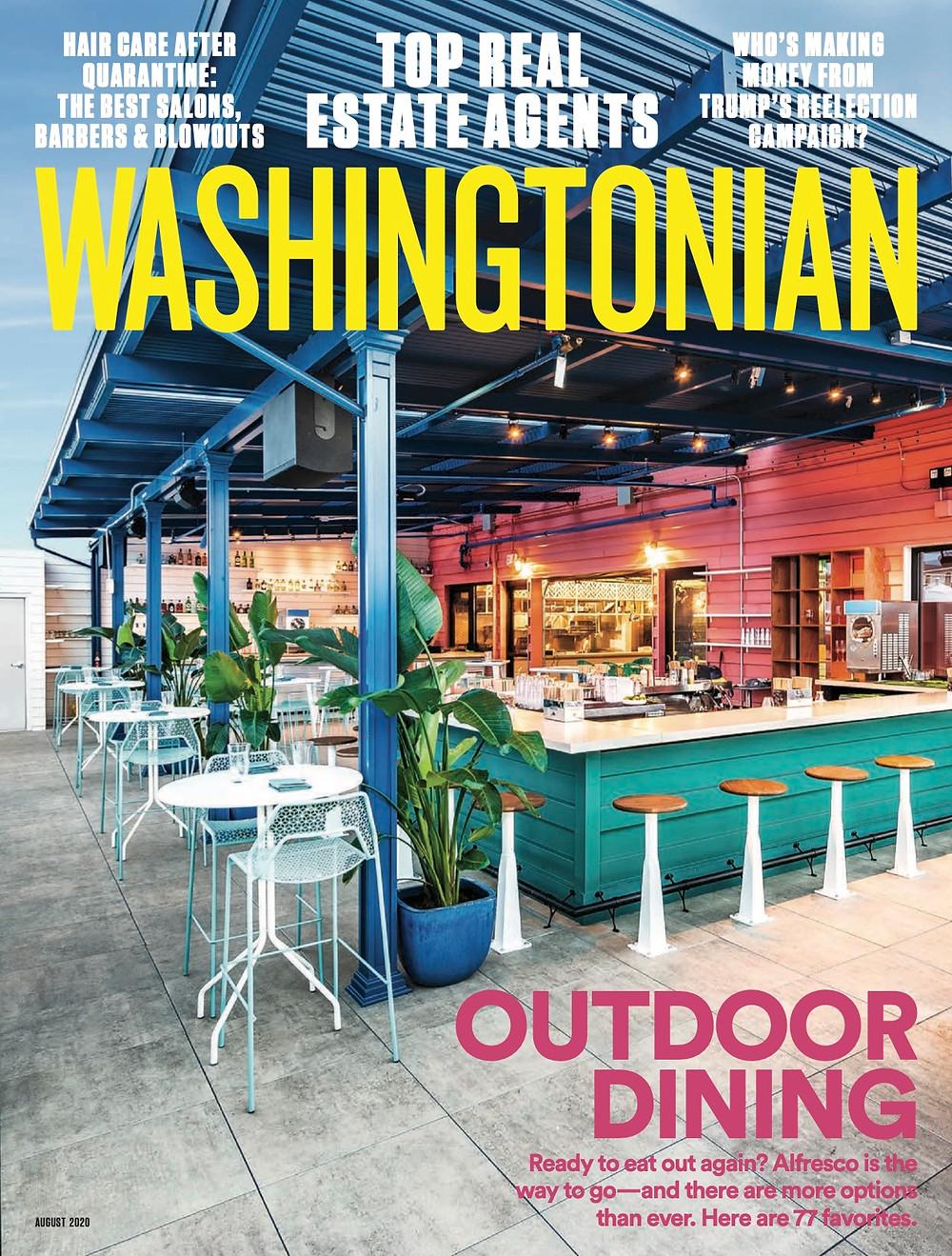 Washingtonian August 2020