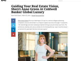 Modern Luxury: DC Magazine Feature of Sherri Anne Green