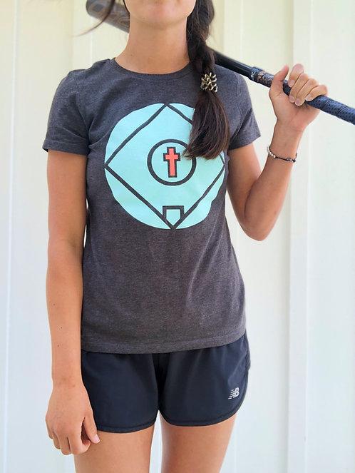 Women's Field Logo Short Sleeve