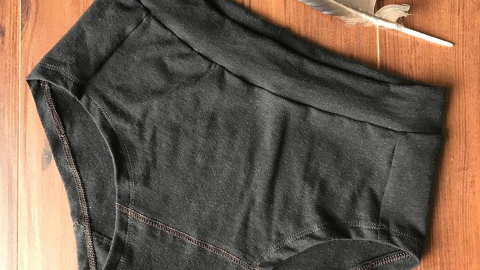 Organic Underwear in Raven