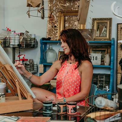 Hope at the Easel.jpg