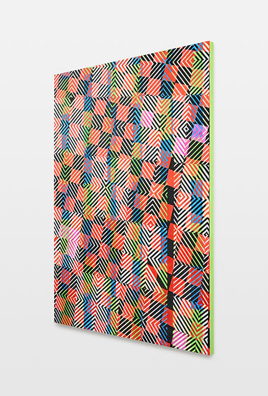 Christof John, 2021, O.T. (Ticket XV/2) installationview