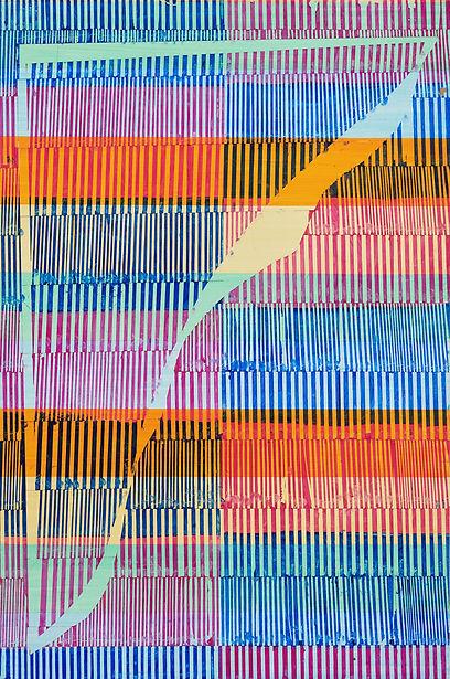 Christof John, 2020, untitled, Oil and Acryl on MDF, 60 x 40 cm