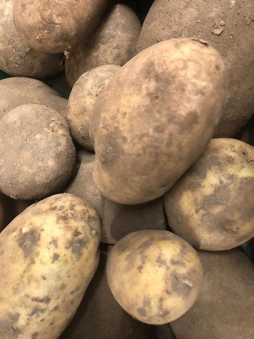 Maris Piper unwashed potatoes (2 kg bag)